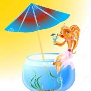 poisson-rouge-en-vacances-38178802